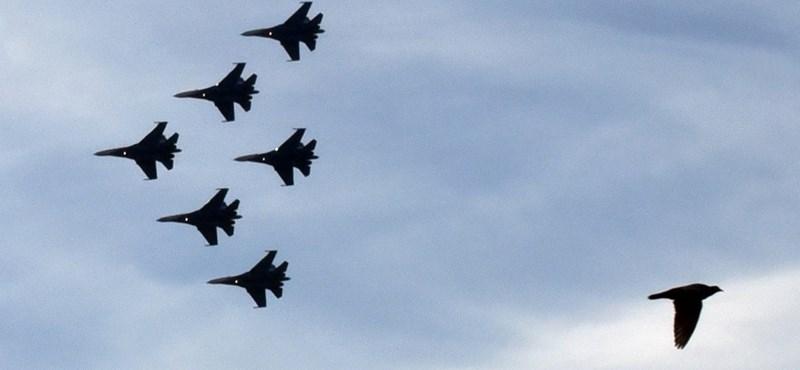 Az USA a levegőben fejezte ki támogatását Ukrajnának