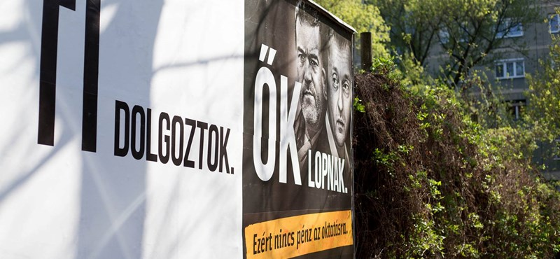Ellenplakátokkal válaszolnak Orbánék a Jobbik lopós hirdetéseire