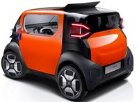 Jogosítvány nélkül is vezethető apró városi villanyautót mutatott be a Citroën