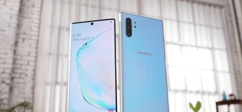 Bemutatták a Samsung eddigi legerősebb telefonját – mutatjuk, mit tud a Galaxy Note10