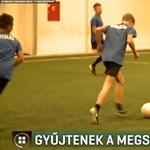 Kómában fekvő 13 éves focistának gyűjt pénzt egyesülete