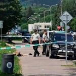 Videón, ahogyan lelövik a szlovák rendőrök a ruttkai késelőt