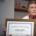 David Hasselhoff nagyon fontos hírt közölt a világgal