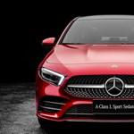 Gigantikus lábtér az új Mercedes A-osztály szedánban