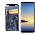iPhone 8 vs. LG V30 vs. Galaxy Note 8: a nagy méret-összehasonlítás