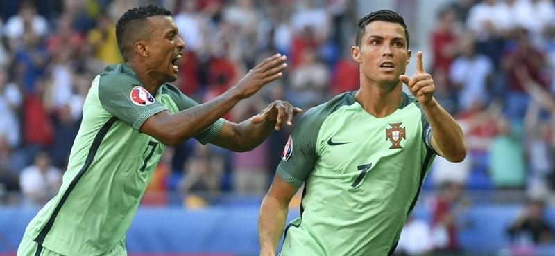 Puskás és Kocsis közé került Cristiano Ronaldo