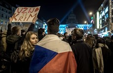 Több ezren tüntettek a cseh miniszterelnök lemondásáért Prágában