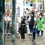 Megrohanták a plázákat Bécsben, mielőtt a bevásárlóközpontok bezárnak a járvány miatt