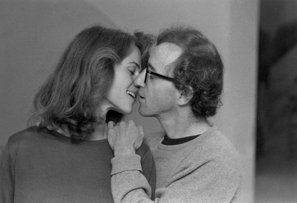 afp.1980. - Charlotte Rampling és Woody Allen a Csillagporos emlékek (1980) című film egyik jelenetében - nagyítás