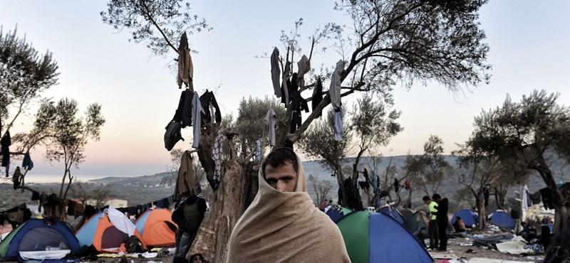 Egyre kevesebb menekült jön, ahogy közeleg a tél