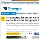 Le Monde: Orbán ellenlábasa a fiatal Orbánra emlékeztet