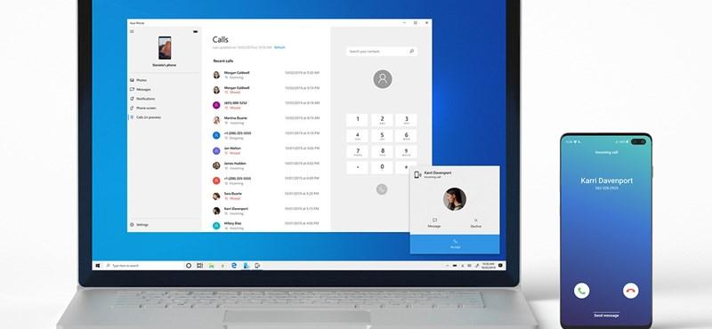 Fontos frissítést készített a Microsoft, tényleg windowsos telefont csinálnak az androidos mobilokból