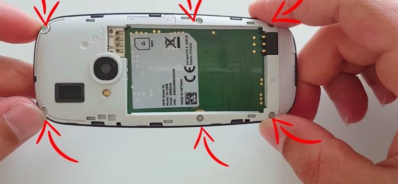 Szétszedték az új Nokia 3310-et, és ezt találták benne –videó
