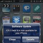 Már a negyedik béta tesztelhető az iOS 5-ből