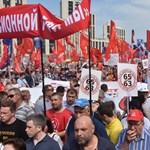 Óriásit esett Putyin népszerűsége, mert megpiszkálta a nyugdíjkorhatárt