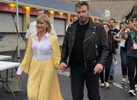 Olivia Newton-John és John Travolta 41 év után felvette a Grease-kosztümöt