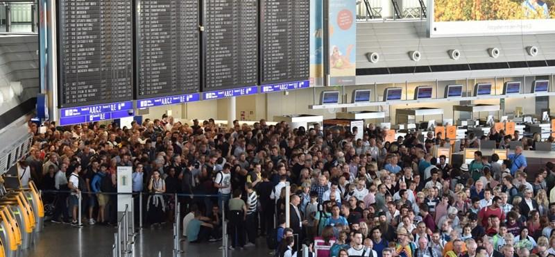 Egy utas kijátszotta a biztonsági ellenőrzést, kiürítették a frankfurti reptér egyik terminálját