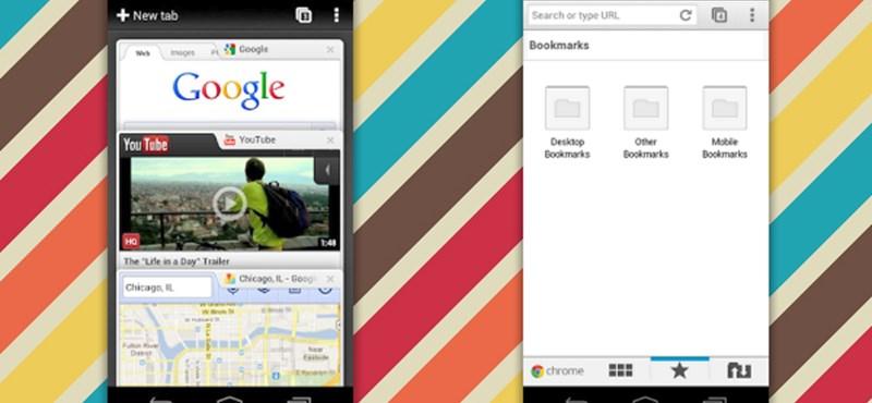 Frissítette a Google az androidos Chrome bétáját: 31 további nyelven érhető el!