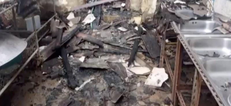 Hatalmas tűz volt egy török kollégiumban, tizenegy diák meghalt