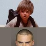 Így üldözték a rendőrök a kis Skywalkert játszó színészt