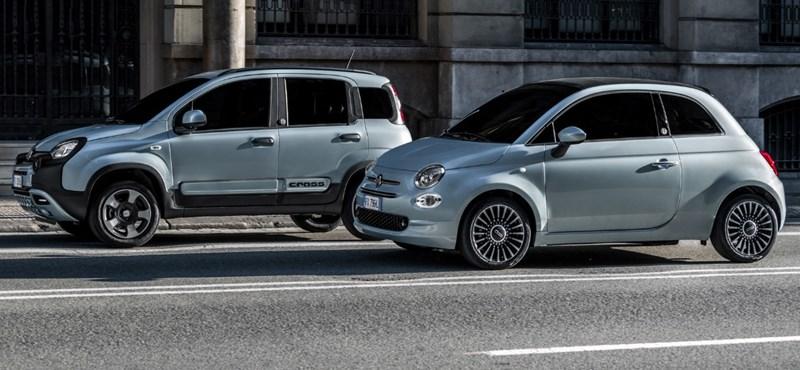Megérkezett a hibrid Fiat 500-as és Panda
