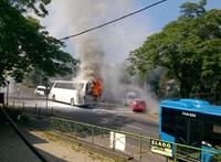 Újabb busz gyulladt ki Budapesten