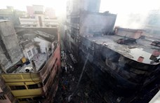 Többtucatnyi halálos áldozata van a dakkai tűzvésznek