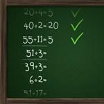 Hány matekpéldát tudtok megoldani egy perc alatt?