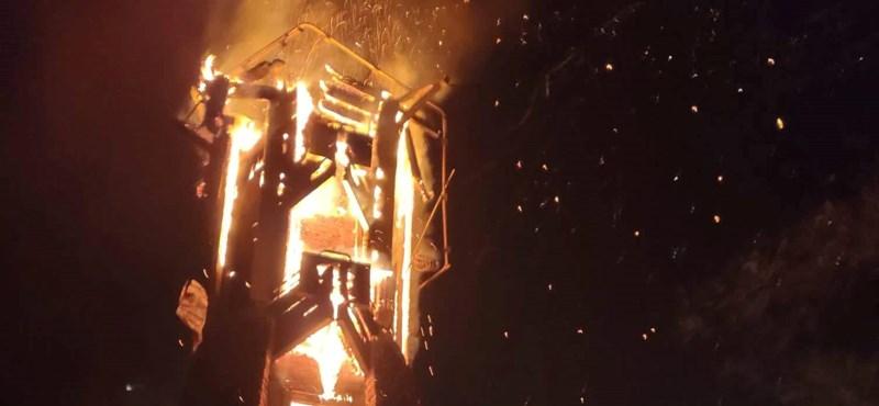 Villámcsapás miatt éghetett le a révfülöpi kilátó