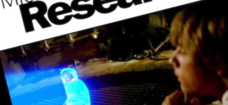 Háromdimenziós, megérinthető hologram [videó]