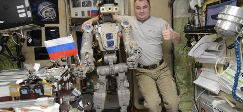 Nem vált be az űrben Fedor, az orosz humanoid robot
