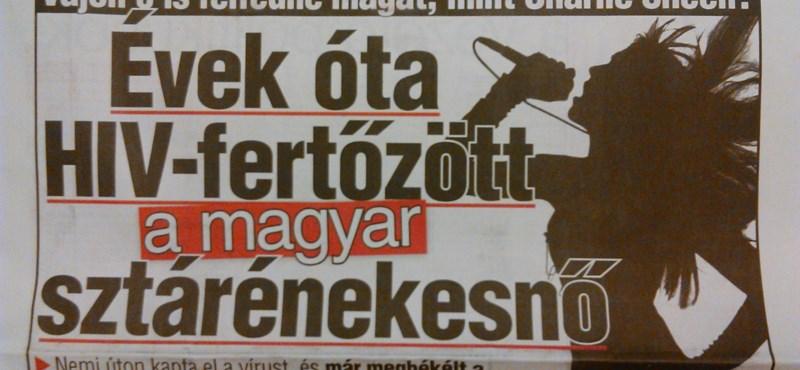 Ledobta a magyar Charlie Sheen-bombát a Blikk