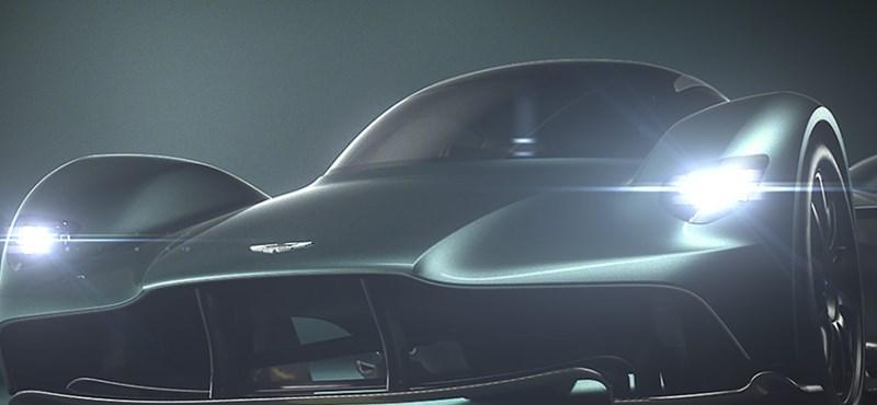 Izgalmas tervek: az Aston Martin a Ferrari babérjaira tör