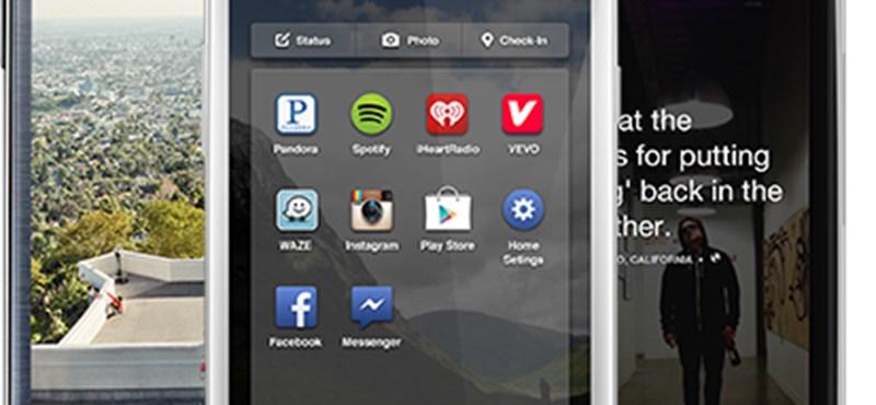 Itt a Facebook Home: sok Facebook egy csipetnyi Androidon