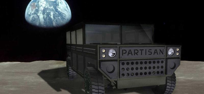 Teslát az űrbe? A Partisan Motors a Marsra vinné el terepjáróját
