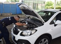 Ukrajnába tartott a lopott Opel SUV
