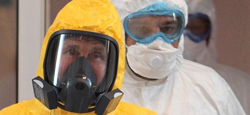 Hetente kétszer tesztelik Putyint a koronavírus-járvány miatt
