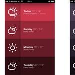 Minimalista, mégis nagyon látványos időjárás alkalmazás HTML5 alapon