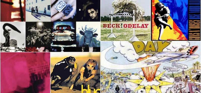 A világ legjobb lemezei – a '90-es évek
