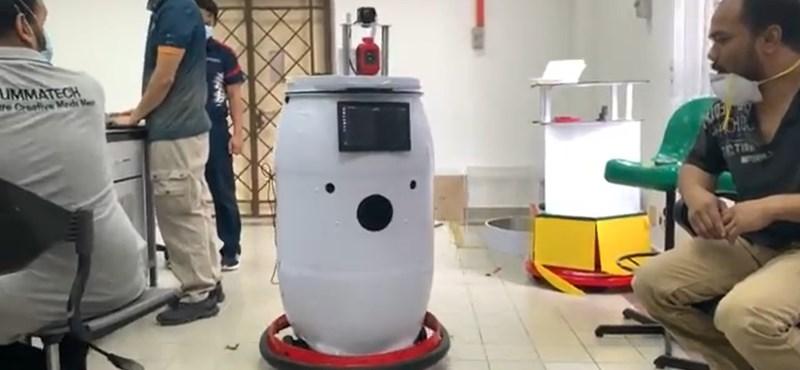 Malajziában robottal ápolnák a koronavírusos betegeket