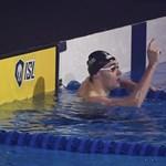 Milák akkora időt úszott, amilyet még Phelps sem tudott