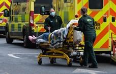 Nagyot csökkent az új fertőzöttek száma az Egyesült Királyságban