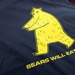 A nap pólója: a medve meg fog enni téged