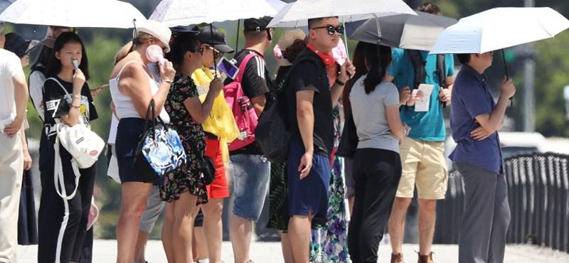 Már csak négy megyében van figyelmeztetés a hőség miatt