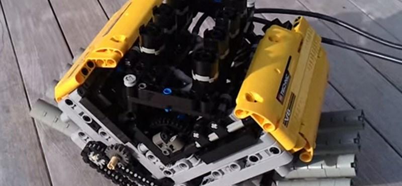 Video: csodásan duruzsol ez a V8-as motor – na, de LEGO-ból?