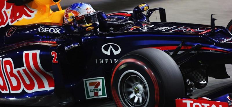 Webber: újra pole- és győzelmi esélyek a Red Bullnál