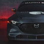 Rég volt ilyen erős gyári Mazda: 350 lóerő és hatalmas hátsó szárny az új 3-ason