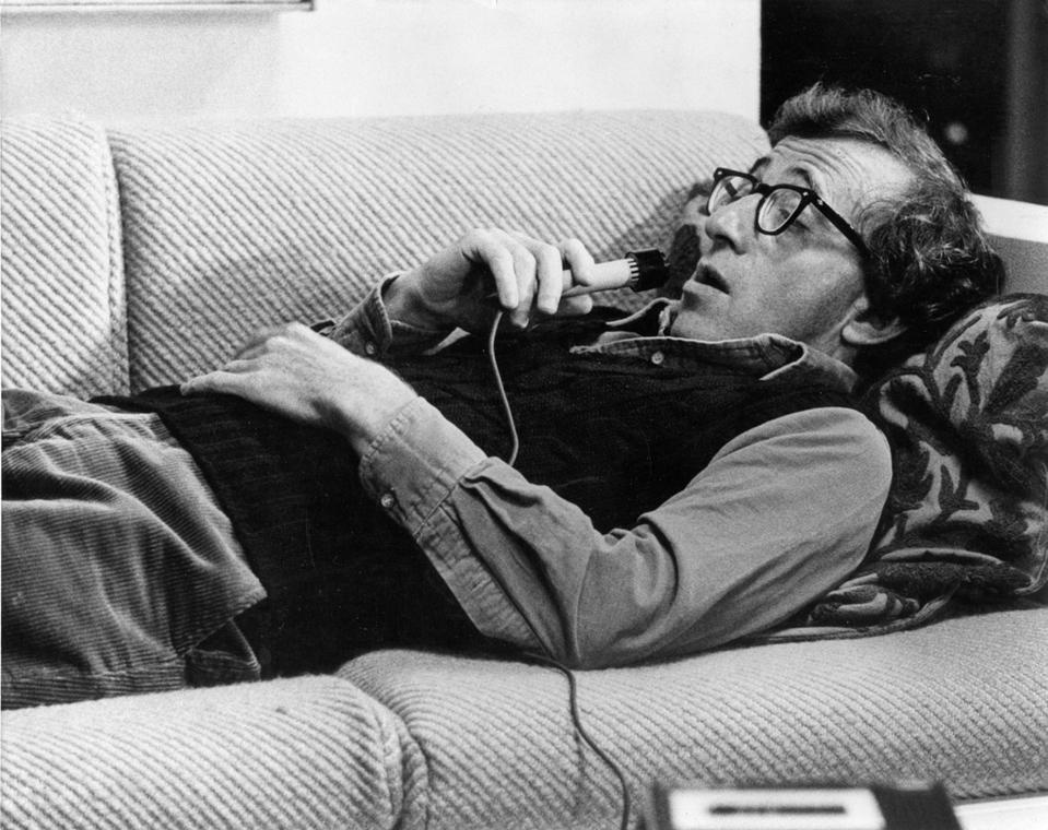 afp.1979. - Woody Allen a ''Manhattan'' (1979) című filmben - nagyítás