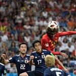 Óriási meccset játszott Belgium és Japán: 0-2-ről fordítva győztek Lukakuék
