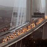 Hat év után elkészült a világ leghosszabb acélvázas hídja Skóciában – fotó